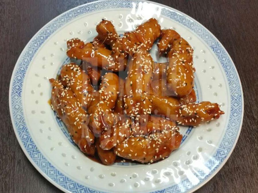 Καραμελωμένο κοτόπουλο