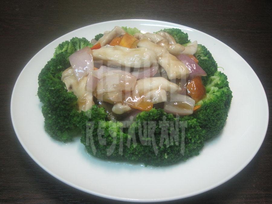 Κοτόπουλο με μπρόκολο