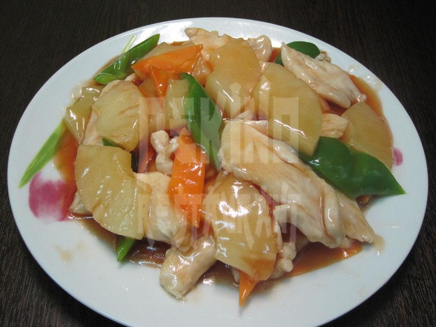 Κοτόπουλο με ανανά
