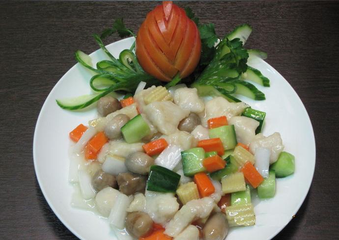 Ψάρι Χουά Τσάο (σε φέτες)