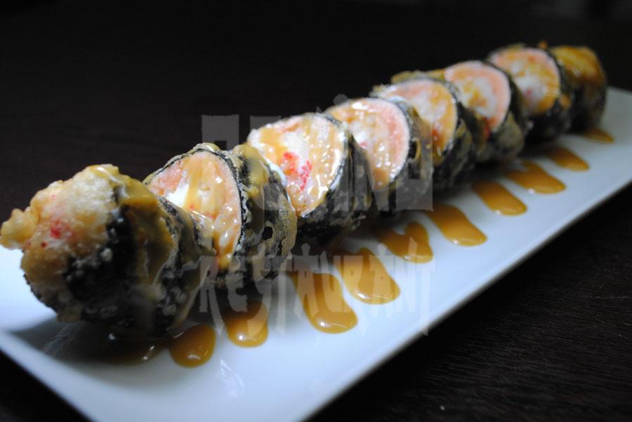 Special tempura sushi